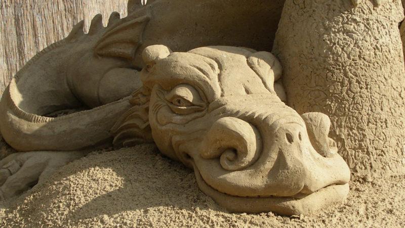 Sanddrache